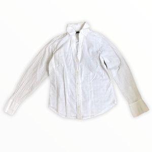CINO | White Button Down Blouse